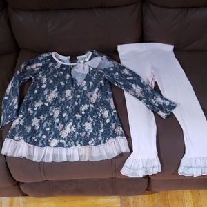 Bonnie Jean beautiful matching set size 5